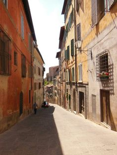 Calles de #Siena (#Italia)