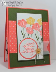Stampin Up Lovely Amazing You Stamps   Stampin' Up! Painted Petals Lovely Amazing You & New Sale-A-Bration ...