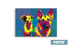 Custom Pet Art by Petsy Custom Dog Portraits, Pet Portraits, Gifts For Pet Lovers, Pet Gifts, Inspirational Gifts, Artists, Detail, Pets, Canvas