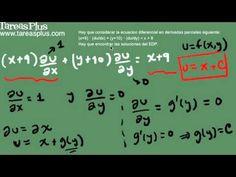 Ejemplo solución ecuación diferencial parcial no homogénea