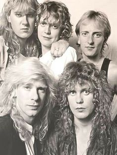 Def Leppard - I've never seen this one before, love it!