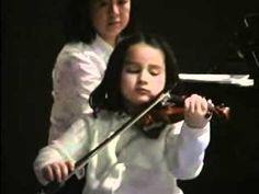 Gavotte (Jean-Baptiste Lully) [by Marais]; Mid-year student recital at the Suzuki Music School of Westport, Westport, Connecticut, USA—See more of this young violinist #from_HoursofPractice