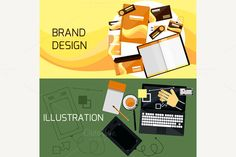 Brand and Web Design by robuart on Creative Market