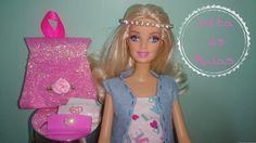 Como fazer Mochila e Estojo para Barbie #voltaasaulas2016