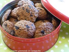 Biscuit suédois à l'avoine Cereal, Muffin, Breakfast, Food, Swedish Cookies, Recipe, Greedy People, Breakfast Cafe, Muffins