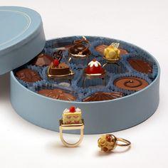 Cake rings.