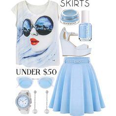 skirts under $50....