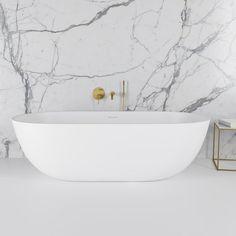 The Picasso Stone Freestanding Bathtub is a true modern design, matching basin is also available for this stunning freestanding bathtub. Bathroom Design Small, Bathroom Interior Design, Bathroom Designs, Casa San Sebastian, Stone Bath, Master Bathroom Shower, Family Bathroom, Luxury Bath, Bathroom Inspiration