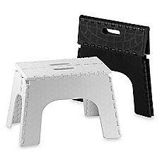 EZ Foldz 12-Inch Folding Step Stools - $19.99 - Bed, Bath & Beyond - http://www.bedbathandbeyond.com/store/product/ez-foldz-12-inch-folding-step-stools/112924?Keyword=step+stool