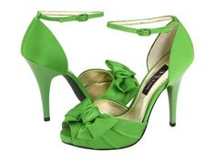 green shoes! Like the style not the color, light green would be best