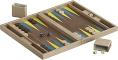 Bar Mitzvah Gifts - www.bmmagazine.com/home/mitzvah-store - boa sorte backgammon game set  | CB2
