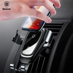 Car Phone Mount Compatible with iPhone Xs XR X 8 7 6 Plus Air Vent Phone Holder