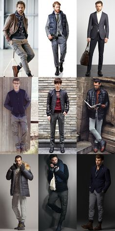 Men's Autumn/Winter Trouser Alternatives : Cargo Trousers Lookbook Inspiration