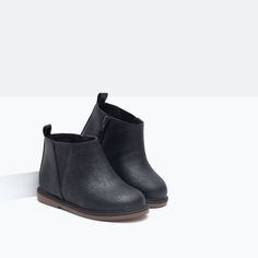 ANKLE BOOTS WITH ELASTICATED SIDE PANELS-Baby girl-NEW IN | ZARA Hungary