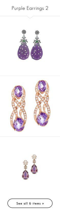 """Purple Earrings 2"" by franceseattle ❤ liked on Polyvore featuring jewelry, earrings, silver tone, toplevelcatearrings, cabochon jewelry, novica earrings, dangle earrings, crown jewelry, indian jewelry and crystal jewelry"