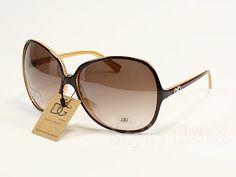 Vintage oversized sunglasses - Dolce & Gabanna