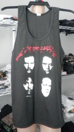 METALLICA  women  tank top men tank top singlet by 99rockshop, $14.99