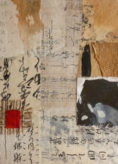 Saatchi Online Artist: Lorna Crane; Paper, 2011, Assemblage / Collage oriental raider