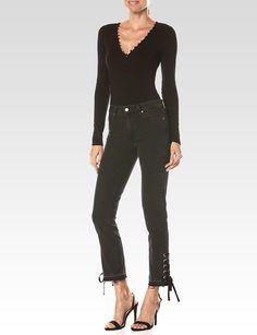 Landry Bodysuit - Black Fashion To Figure 3bc73a75e