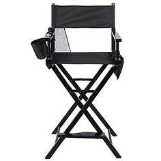 Professional-Makeup-Artist-Chair-Directors-Seat-Folding-Make-Up-Salon-w-Bags