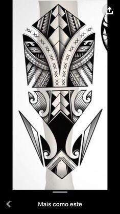 Forarm Tattoos, Leg Tattoos, Black Tattoos, Tribal Tattoos, Sleeve Tattoos, Maori Tattoo Designs, Tattoo Design Drawings, Tattoo Sketches, Make Tattoo
