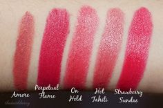 The Deathberry: Top 5 Everyday Lipsticks [non-tag]
