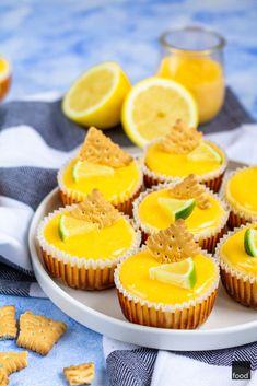 Lemon Curd, Mini Cupcakes, Recipies, Cheesecake, Sweets, Desserts, Bakery, Foods, Recipes
