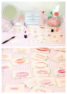 Creating a #Kiss Board -- This is really cute