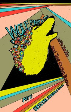 Wolf Parade :: Unofficial Concert Poster
