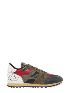 VALENTINO Rockrunner Sneakers. #valentino #shoes #sneakers