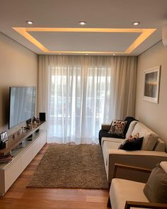 Home decoration indian living rooms best Ideas House Ceiling Design, Ceiling Design Living Room, Bedroom False Ceiling Design, Home Room Design, Home Ceiling, Home Interior Design, Living Room Designs, Design Bedroom, Indian Living Rooms