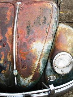 VW Beetle - Rat look Beetle