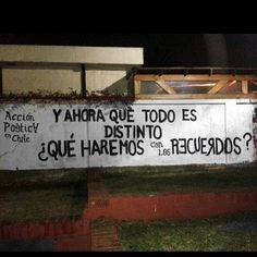 Y ahora que todo es distinto  ¿Qué hacemos con los recuerdos? #Acción Poética Chile #accionpoetica
