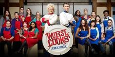 The best part of this show is Bobby Flay's facial expressions and his snarky comments. Worst Cooks In America, Chicken Parmesan Casserole, Cash Prize, Food Shows, Cooking Games, Facial Expressions, Reality Tv, Food Network Recipes, Allrecipes
