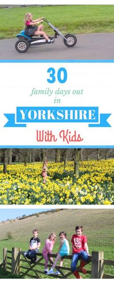 More than 30 family days out with the kids in Yorkshire, England. Ideas and inspiration for fantastic days out in the Yorkshire region. From farm parks to theme parks, stately homes to beaches. Fun filled free days out too.