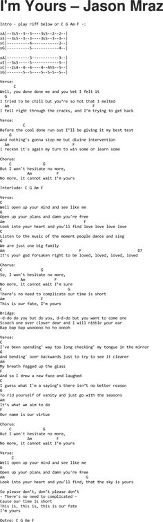Still Into You chords Paramore | books | Pinterest | Paramore ...