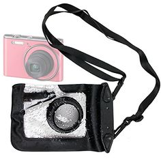 DURAGADGET Compact Camera Case in Black for Casio Exclaim ZR1000, Casio Exilim EXJE10 & Casio Exilim EXN1 - Premium Quality, Water-Resistant Pouch with Zoom Lens Compartment, Cross-Body Strap & Air-Locked Seals Price: $16.49  http://onestopshop-store.com EZ