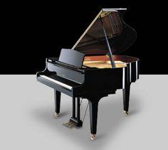 Kawai GE-30 Baby Grand Piano - Baby Grand Pianos by Kawai www.jimspianos.com More than 5 feet long, top of the G-Series Grands from Kawai. Play now at Jim's Pianos in Tallahassee, FL 850-205-5467