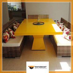 mesas de jantar amarelas | 68---Mesa-de-Resina-Horus-Amarela