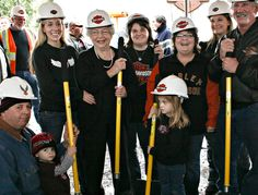 Groundbreaking Ceremony for the new and improved Mathews Harley Davidson Showroom and Museum, circa 2010!
