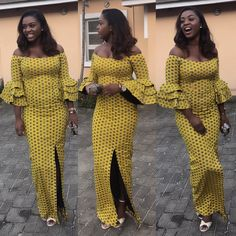 Unleash Your Style In These Jaw-Dropping Ankara Styles - Wedding Digest Naija African Print Dresses, African Print Fashion, African Fashion Dresses, African Attire, African Wear, African Women, African Dress, Fashion Outfits, African Prints