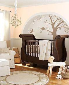 ホワイトルーム : 赤ちゃんを迎える おしゃれなBaby's room (子供部屋)