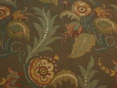 PRODUCT TYPE: #FLORAL FABRIC  MANUFACTURER: #Thibaut  F93806  CATEGORIES:Damask #Fabric, #Ikat Fabric , #Natural Fabric , #Luxury Fabric, Upholstery Fabric, Floral Fabric  ... #fabric #toile #printed #ikat #yardage #blue #supplies #floral #thibaut #papaya #natural #chelsea #vintage #craft #luxury #ballantyne #brown