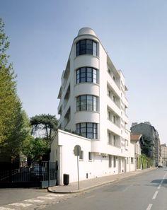 Atelier d 39 mile just bachelet 1927 6 villa seurat paris 75014 architecte emile just bachelet - La villa berkel par paul de ruiter ...