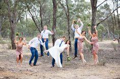 Beautiful Farm Wedding, Country Victoria #countrywedding #bride #bridalparty #bridesmaids #groomsmen #groom #groomsmen #bridesmaids #weddingphotos #weddingflowers #weddinginspiration #bridalportraits  See more at www.leahladson.com