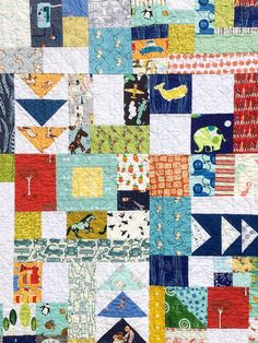 I Spy Quilt Take 2 | by Megan @ Sweet Feet Stitches