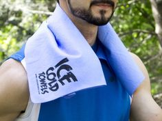 Gym, golf, outdoor fun? The Cooling Towel will keep Dad cool for 2-5 hours!