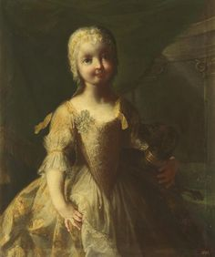 1746, María Isabel of Bourbon and Saxony, Infanta of Naples and Spain - The Collection - Museo Nacional del Prado