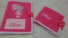 porta caderneta de vacina + carteira para os documentos do Bebê <br>feito sob encomenda