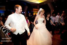 Reception party, wedding dress  from Circle Park Bridal Boutique.
